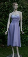 1950's Strapless Dress