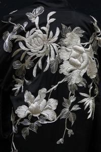 Silk & Silver Kimono (Pattern Detail)