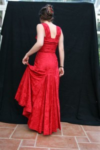 Beautiful Red Evening Dress