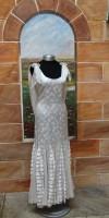 20's Silk and Chiffron Dress - Worn by Joahnna Lumley