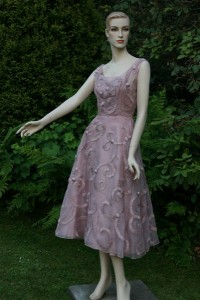 1950's Harvey Berrin Dress