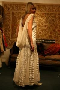 20's Silk and Chiffron Dress