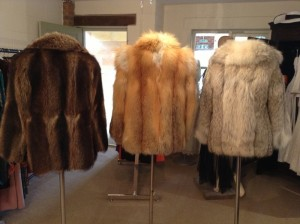 Three Fur Jackets